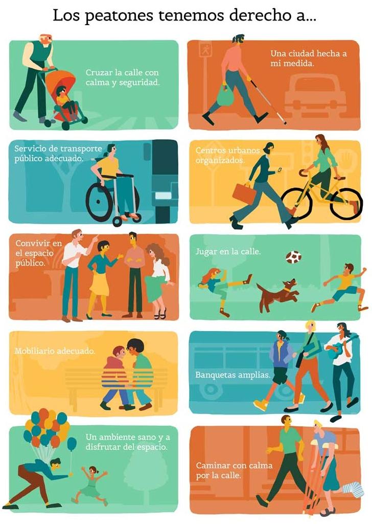 Estartit derechos peatones
