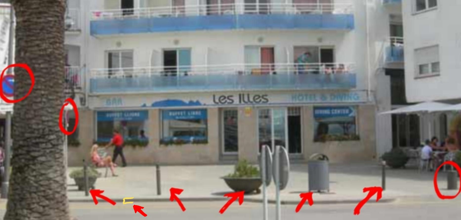 Hotel les Illes Estartit placeta